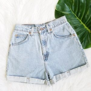 Levi's • Vintage 954 High Waisted Shorts